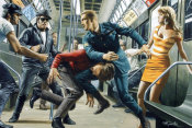 Mort Kunstler - Everybody Wanted Nina