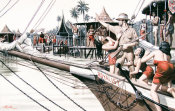 Mort Kunstler - The White Rajah of Sarawak (Part Two)