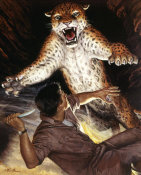 Mort Kunstler - The Jaguar Smelled Blood