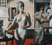 Mort Kunstler - The Honey Pot
