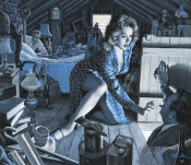 Mort Kunstler - Attic Lovers Discovered