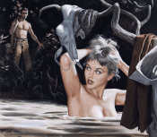 Mort Kunstler - The Nude Decoy