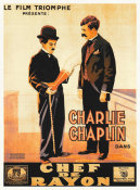 Hollywood Photo Archive - Chaplin The Floorwalker, 1916 001