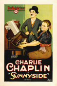 Hollywood Photo Archive - Chaplin, Charlie, Sunnyside etched stone print