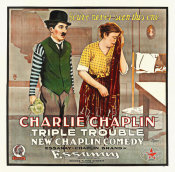 Hollywood Photo Archive - Charlie Chaplin, Triple Trouble