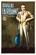 Hollywood Photo Archive - Douglas Fairbanks stock poster, 1920's