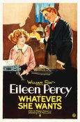 Hollywood Photo Archive - Eileen Percy, Whatever She Wants,  1921