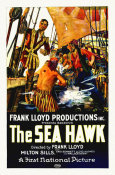 Hollywood Photo Archive - Milton Sills, Wallace Beery, The Sea Hawk, 1924