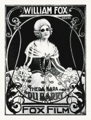 Hollywood Photo Archive - Theda Bara La Du Barry French Poster