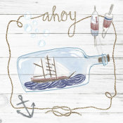 Sara Zieve Miller - Ship in a Bottle Ahoy Shiplap