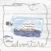 Sara Zieve Miller - Ship in a Bottle Adventure Shiplap