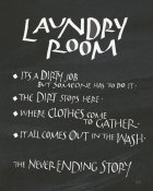 Chris Paschke - Laundry Room Sayings