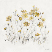 Lisa Audit - Wildflowers II Yellow