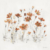 Lisa Audit - Wildflowers III Orange