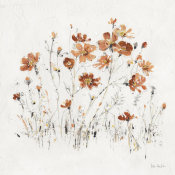 Lisa Audit - Wildflowers II Orange