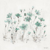 Lisa Audit - Wildflowers III Turquoise