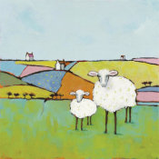 Phyllis Adams - Sheep in the Meadow
