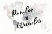 Laura Marshall - Watercolor Wanderlust Ponder