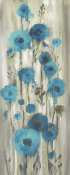 Silvia Vassileva - Roadside Flowers I Blue Crop