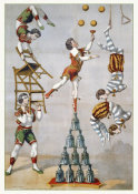 Hollywood Photo Archive - Acrobatic Act - 1870