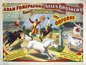 Hollywood Photo Archive - Adam Forepaugh & Sells Brothers - The Oxfords - William And Ella Oxford
