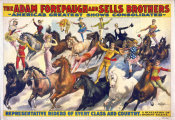 Hollywood Photo Archive - The Adam Forepaugh & Sells Brothers - America's Shows Consolidated - Representative Riders Of Every Class And Country