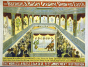 Hollywood Photo Archive - The Barnum And Bailey Greatest Show On Earth--Chaste, Charming, Weird & Wonderful Supernatural Illusions - Created By Roltair, The Magician