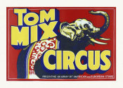Hollywood Photo Archive - Tom Mix Circus