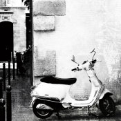 Brookview Studio - Paris Vespa BW