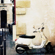Brookview Studio - Paris Vespa Color