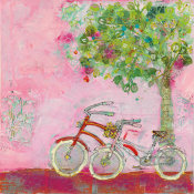 Kellie Day - Pink Bicycles