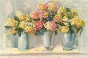 Carol Rowan - Ivory and Blush Hydrangea Bouquets