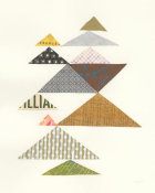 Courtney Prahl - Modern Abstract Triangles II