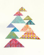 Courtney Prahl - Modern Abstract Triangles I