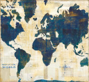Sue Schlabach - World Map Collage v2