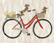 Sue Schlabach - Doxie Ride ver I Red Bike