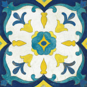 Silvia Vassileva - Andalucia Tiles A Blue and Yellow