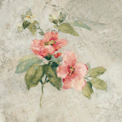 Cheri Blum - Provence Rose I Red and Neutral