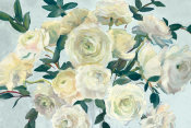 Marilyn Hageman - Roses in Cobalt Vase Spa Blue Crop