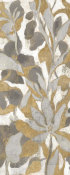 Silvia Vassileva - Painted Tropical Screen I Gray Gold Crop