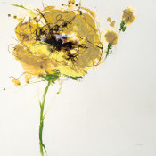 Jan Griggs - Yellow Poppy Master on White