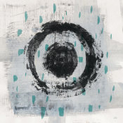 Melissa Averinos - Zen Circle II Crop with Teal