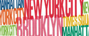 Michael Mullan - New York City Life Words