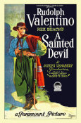 Hollywood Photo Archive - Rudolph Valentino - A Sainted Devil - 1924