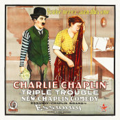 Hollywood Photo Archive - Charlie Chaplin - Triple Trouble, 1918