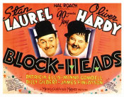 Hollywood Photo Archive - Laurel & Hardy - Block-Heads, 1938