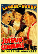 Hollywood Photo Archive - Laurel & Hardy - French - Les Joyeux Comperes