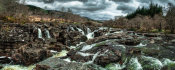 European Master Photography - Glen Etive Waterfall panorama