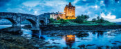 European Master Photography - Fairytale castle twilight panorama