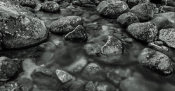European Master Photography - River rocks 2 black&white